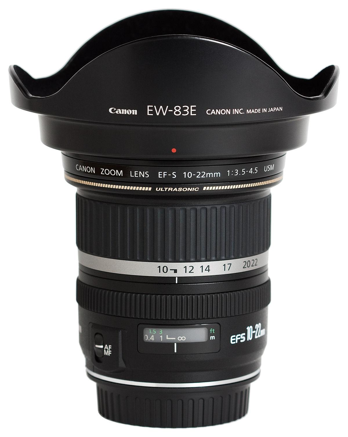 Canon EF-S 10–22mm lens - Wikipedia