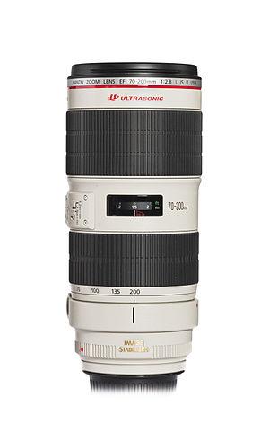 Canon EF 70–200mm lens - Image: Canon EF 70 200mm f 2.8L IS II USM, 2013 November 2
