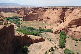 Chuska Mountains - Image: Canyon de Chelly 7 27 09 (2)