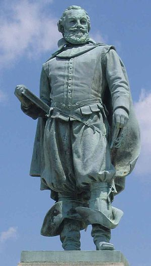 John Smith (explorer) - Statue at Historic Jamestowne
