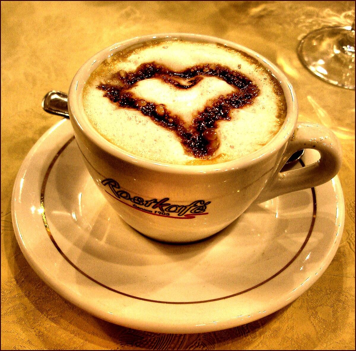 Café Noisette C Est Quoi cappuccino (café) — wikipédia