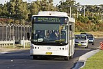 Carbridge (TV 5177) Volgren 'CR228L' bodied Mercedes-Benz O500LE on Ross Smith Ave at Sydney Airport.jpg