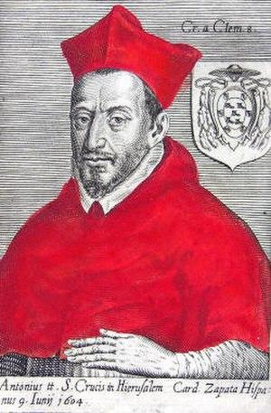 Antonio Zapata y Cisneros - Image: Cardenal Antonio Zapata y Cisneros