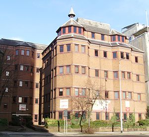 Cardiff Sixth Form College - The present site at Trinity Court, 21-27 Newport Road