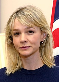 Carey Mulligan English actress