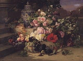 Frugt- og blomstermaleri