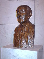 Bronze bust of Hayden located in the Russell Senate Office Building