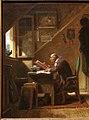 Carl spitzweg, l'interruzione inaspettata, 1855 ca. 02.jpg