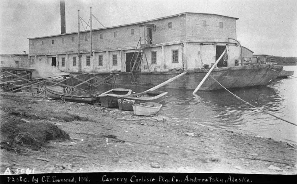 Carlisle Packing Co floating cannery NOAA