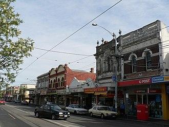 Balaclava, Victoria - Image: Carlisle street balaclava