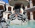 Carlo maderno e giovanni fontana, fontana della madonna a loreto, 1604-14, poi 1622, 04.jpg
