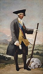 Francisco de Goya: Charles III in Hunting Dress