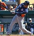 Carlos Peña batting for the Houston Astros in 2013 Spring Training (Cropped).jpg