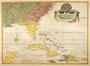 Carolina-florida-bahama-map-1754