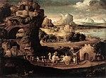 Carpi, Girolamo da - Landscape with Magicians - c. 1525.jpg
