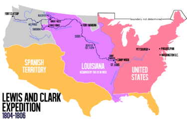 Lewis and Clark Expedition - Wikipedia on