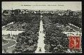 Carte postale - Asnières-sur-Seine - Le Parc de la Mairie - Allée centrale - Panorama.jpg