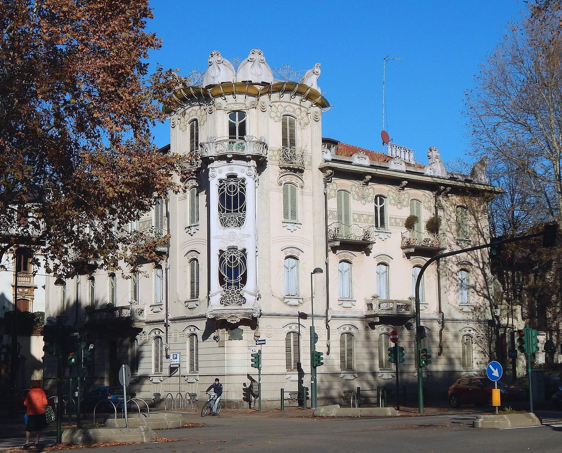 Casa fenoglio lafleur wikipedia - Casa stile liberty ...