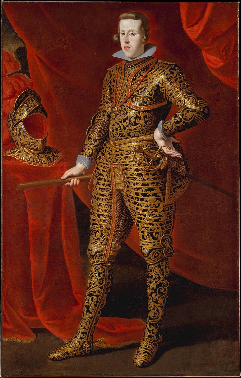 Caspar de Crayer - Philip IV (1605–1665) in Parade Armor