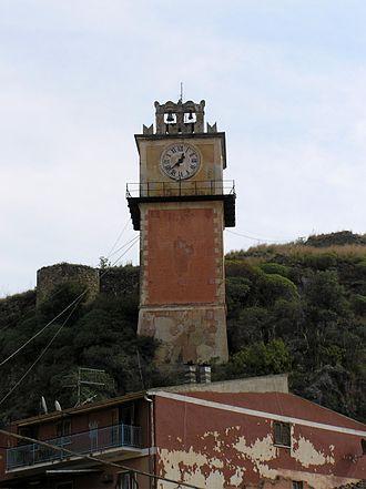 Cassano all'Ionio - Clock tower in Cassano