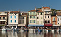 Cassis harbour, Provence, France (6052513013).jpg
