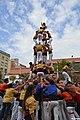 Castellers de Badalona - Onze de Setembre a Badalona, 2015.jpg