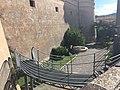 Castello Corigliano Calabro scala fossato settembre 2019 02.jpg
