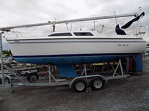 Catalina 250 - Catalina 250 with wing keel