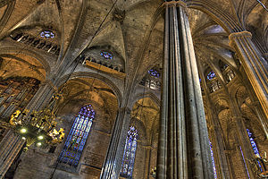 Spanish Gothic architecture - Image: Catedral De Santa Eulalia II
