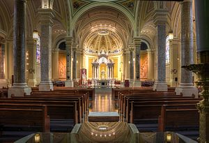 Roman Catholic Diocese of Wichita - Interior of the Cathedral of the Immaculate Conception