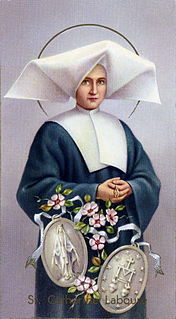 Catherine Labouré French Daughter of Charity and saint