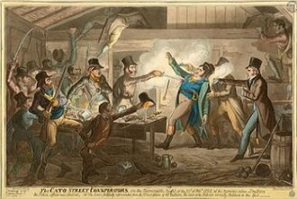 Cato Street Conspiracy - The arrest of the Cato Street conspirators.