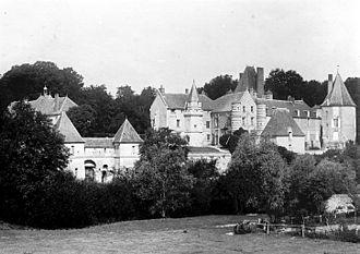 Alincourt - Image: Château d' Alincourt par Félix Martin Sabon 01
