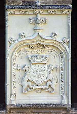 Château de Nantes - armoiries ducales