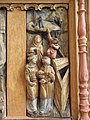 Champeaux (35) Collégiale Sainte-Marie-Madeleine Intérieur Retable de la Passion 06.jpg