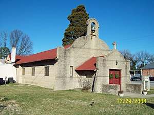 Brandywine, Maryland - Image: Chapel of the Incarnation Dec 08