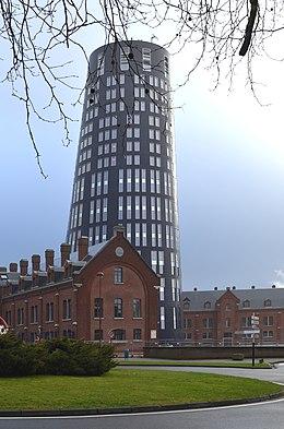 [résolu] Hauteur bâtiment 3d dans Google Earth 260px-Charleroi_-_Tour_bleue_-_2015-01-31