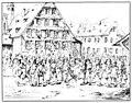 Charles-Alexandre Steinhäuslin 17 - Des soldats de la brigade Frei pillent l' auberge du Kl6sterli, à Malters (25.11.1847).jpg