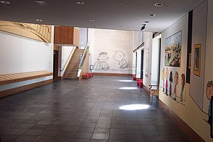 Charles M. Schulz Museum and Research Center - Image: Charles M. Schulz Museum and Research Center interior