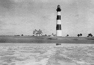 Morris Island Light - Image: Charleston 1876