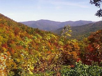 Protected areas of Georgia (U.S. state) - Fall in the Chattahoochee National Forest