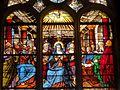 Chaumont-en-Vexin (60), église Saint-Jean-Baptiste, verrière n° 12 - la Pentecôte.JPG