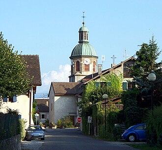 Chens-sur-Léman - The church in Chens-sur-Léman