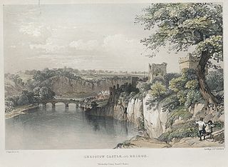 Chepstow Castle, and bridge