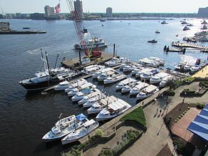 Chesapeake Bay deadrise - Chesapeake Bay Deadrises at 2016 Norfolk Harborfest