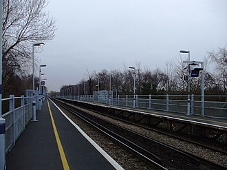 Chestfield & Swalecliffe railway station - Image: Chestfield & Swalecliffe railway station in 2009