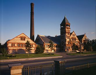 Jet Lowe - Image: Chestnut Hill Water Works high service pumping station