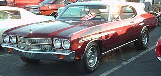 Chevrolet Malibu - 1970 Chevrolet Chevelle Malibu Sport Coupe