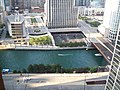 Chicago River south of NBC Tower, Aug 10.jpg