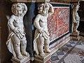 Chiesa di San Giovanni Evangelista Cappella Madonna del Tabarrino putti Sante Calegari Brescia.jpg